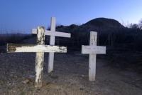 Roadside Desert Grave