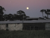 December Florida Moonrise Over White Rabbit Acres