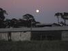 December Florida Moonrise Over White Rabbit Acres