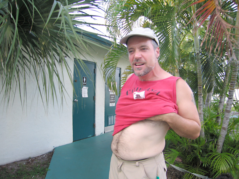 The required look for men at Paradise Island