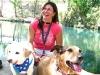 Fulltime RVer Lori with travelling pups