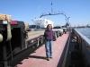 Creole, Louisiana auto ferry crossing