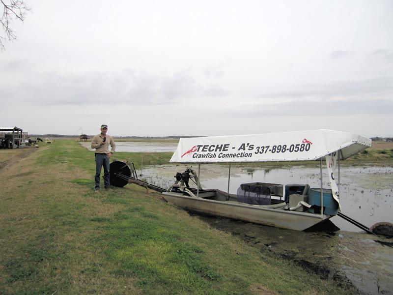 3. Teche-A Crawfish Company Boat