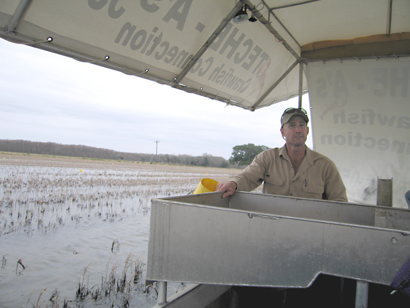 6. Crawfishing in Abbeville, Louisiana
