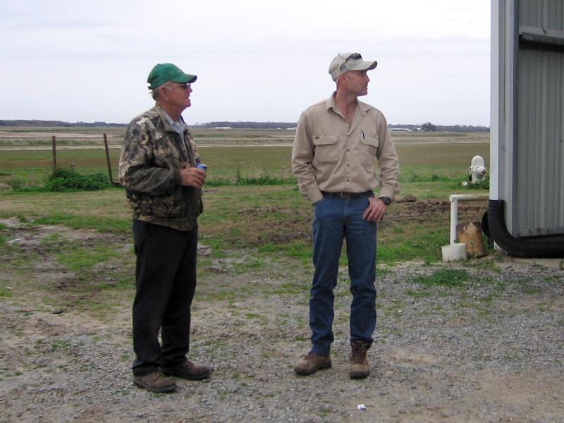 15. Farmers conversating, Abbeville Louisiana