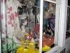 Mardi Gras Window Display on Frenchman