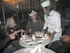 Serving up Beignet at Cafe Du Monde