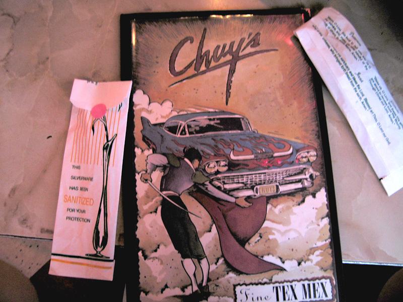 Chuy's Restaurant, Austin TX