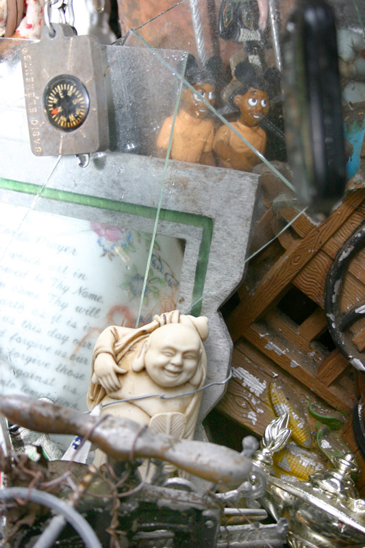 Laughing Buddah in Cathedral of Junk, Austin