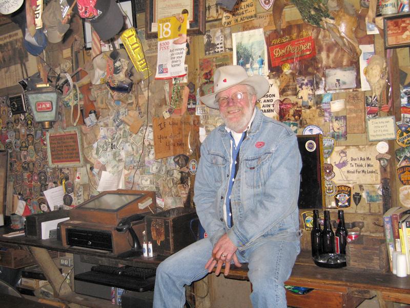 05. Danny Terry singer bartender Luckenbach Saloon