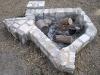 Luckenbach, Texas campfire hearth