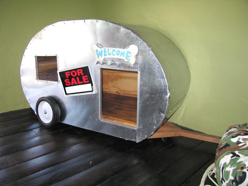 Teardrop Trailer Dog House