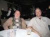 Jim and el Jefe in the Dal Rae bar