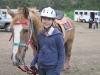 Steena and her horse at Gymkannaa