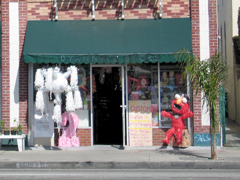 Pinata store in East LA