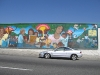 Mural on East LA Library