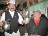 Hot food and hot coffee at El Tepeyac