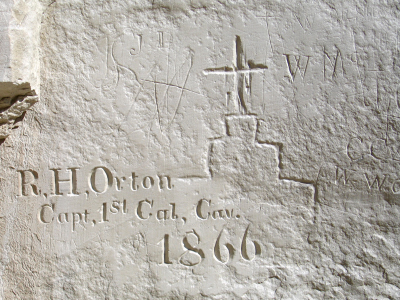 05. Inscriptions on the El Morro Wall from 1866