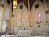 The altar at Loretto Chapel in Santa Fe, NM