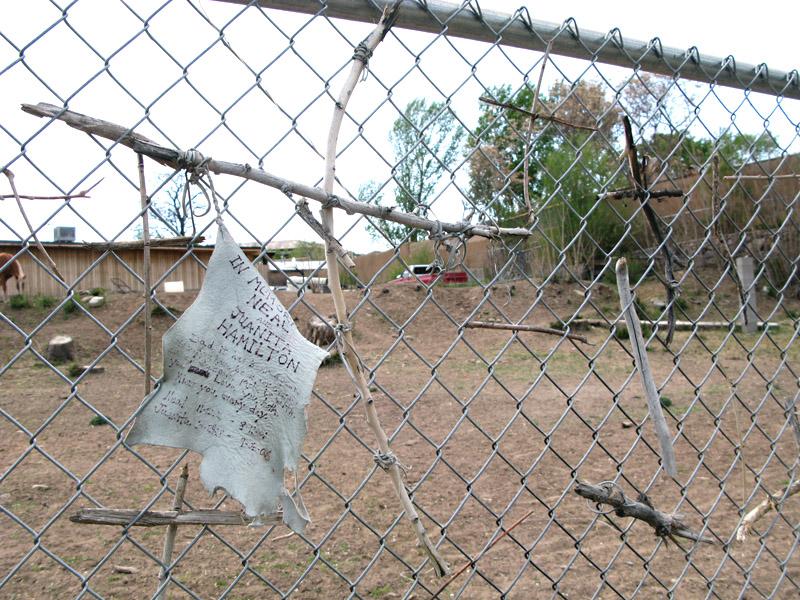 Santuario de Chimayo pilgrim messages