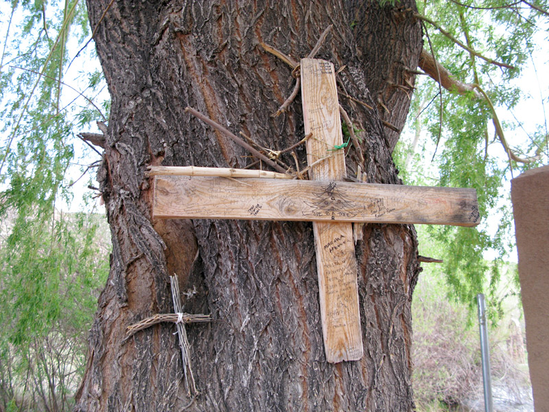 Santuario de Chimayo pilgrim mementos