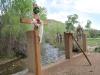 Santuario de Chimayo exterior crucifix