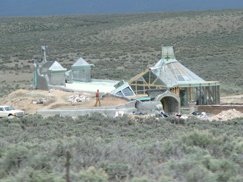 Earthship Construction Materials : Discovering eco friendly construction methods at the