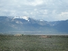Earthship view Taos Mountains