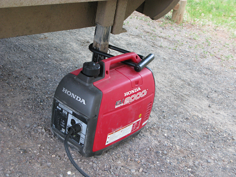 Lock Up My Generator : Secure your generator with lock when rv camping