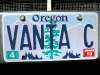 The Vantasy vanity plate