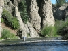 Jim fishes Lake Fork of the Gunnison River in lake City, CO