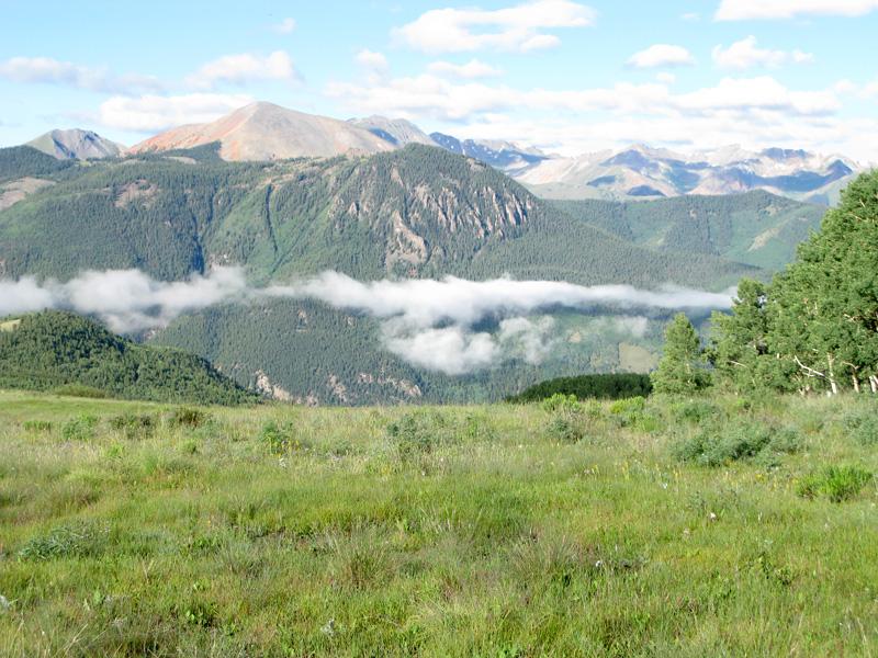 Lake City Colorado mountains