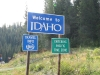 Crossing the Idaho border back into Pacific Time Zone