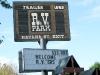 Trailer Inns Cramped RV Park Spokane
