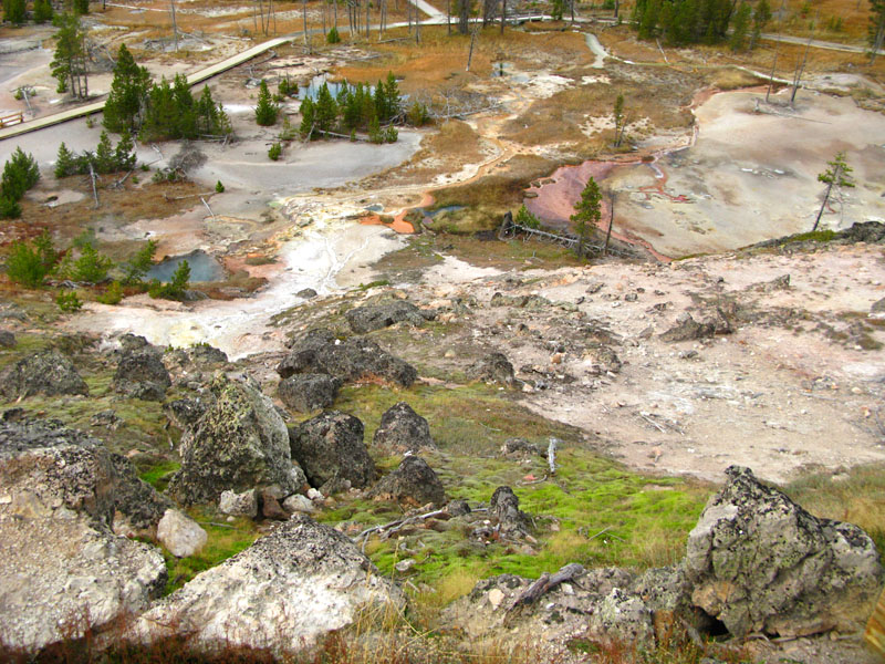 Yellowstone Artist Paint Pots Thermal Features