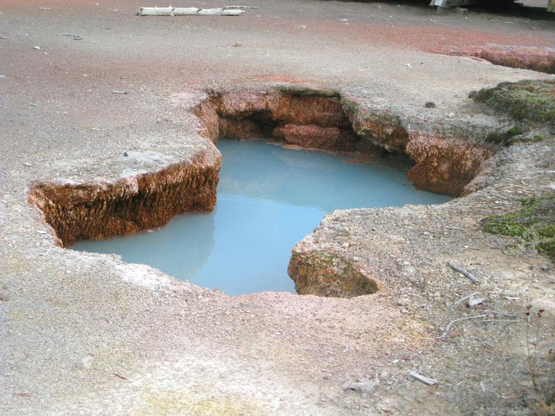 Yellowstone Hot Spring Pool