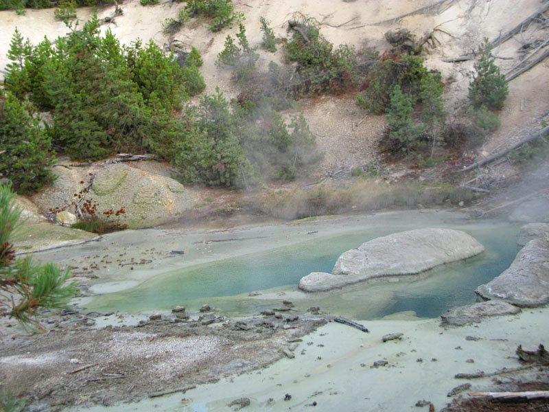 Yellowstone Hot Spring Pool