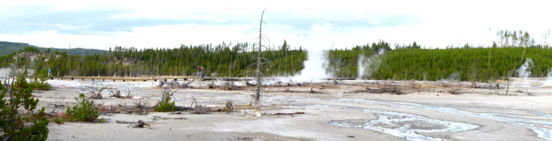 Yellowstone Thermal feature Landscape