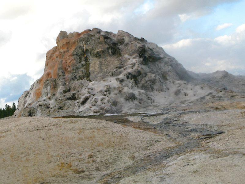 Cone Geyser Yellowstone National Park