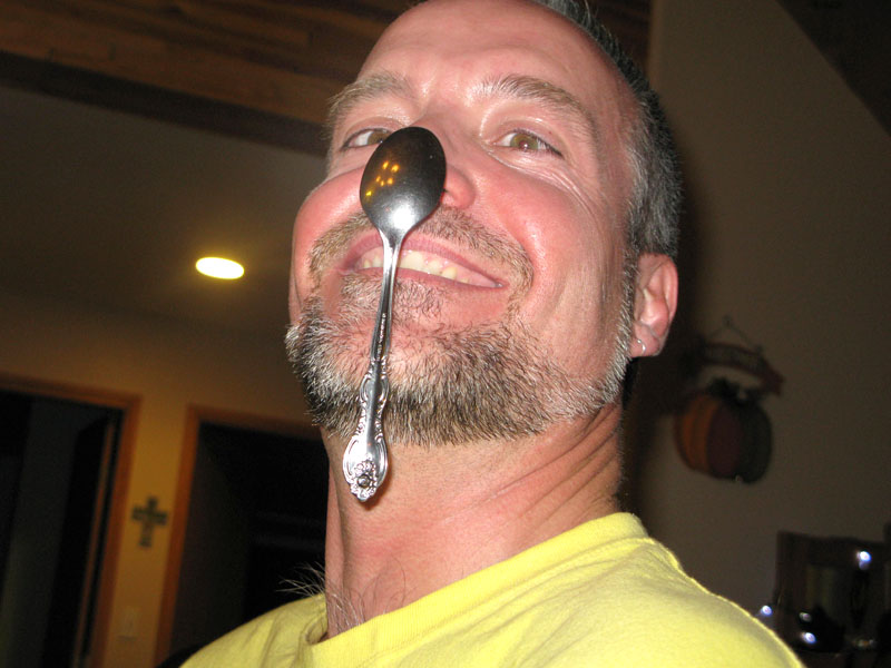 spoon man