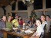 Nelson family thanksgiving at Shasta off-grid home