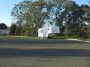 Arctic Fox trailer cold and lonely in Santa Rosa cul de sac