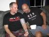 Jim and Randy test blood pressure