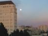 Full moon over Alta Plaza Park, San Francisco, CA