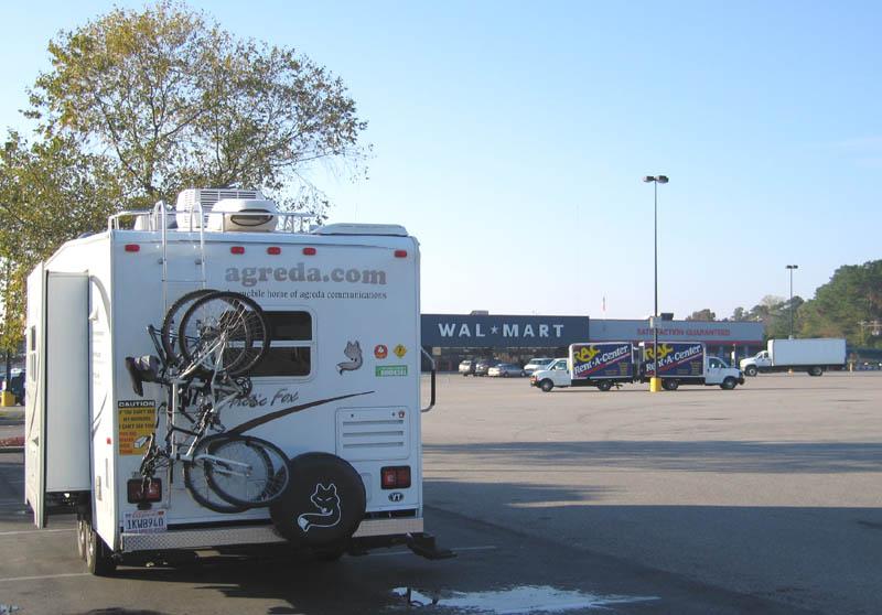 walmart RV camping