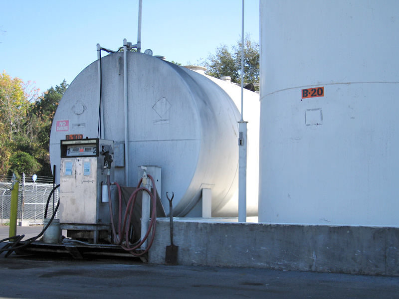 Biodiesel tanks at Biofuels station in Starke, FL