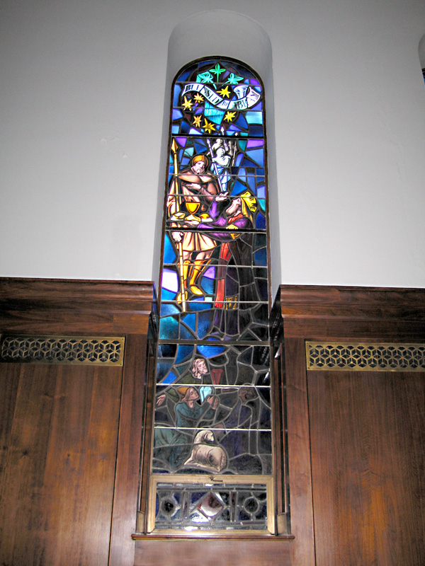 Stained glass window of Cathedral Basilica St. Augustine, FL
