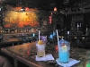Tropical drinks at the Trade Winds Bar in St. Augustine