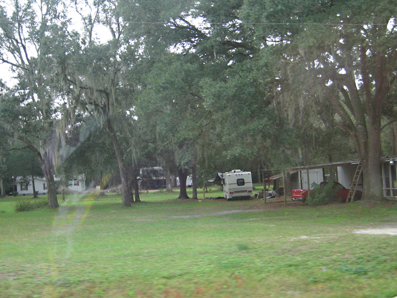 Poverty surrounded by Development in Florida