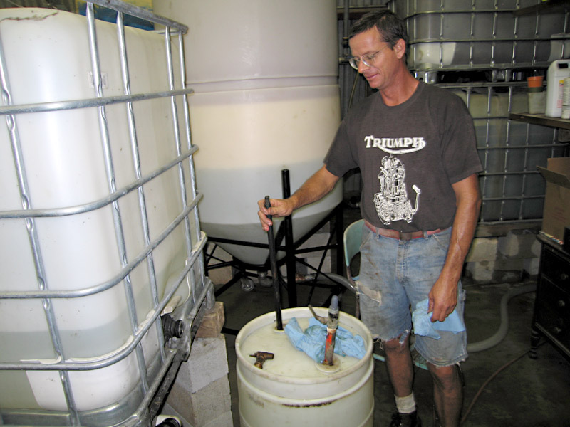 05. Brian Mixes BioDiesel Ingredients